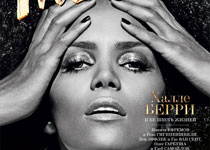 Halle Berry en couv' du magazine Interview Russia
