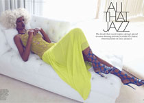 Herieth Paul Jazzy pour Flare Magazine