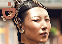 Chen Yunxia, Li Jia, et Guo Yupe en couv' de i-D Magazine Pre-Fall 2012 par Chen Man