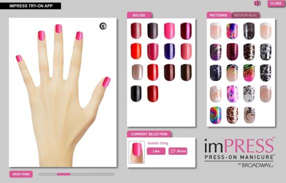 imPRESS Press On Nails App