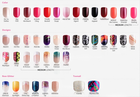 imPRESS Press On Nails colors