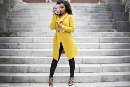 indispensables automne manteau zara yellow shirley