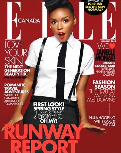 janelle_monae_elle_canada Janelle Monae pour Elle Canada Février 2013