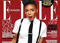 Janelle Monae pour Elle Canada Février 2013
