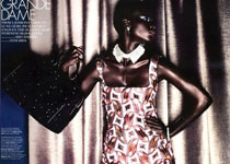 Jeneil Williams par Horst Diekgerdes pour Elle US Septembr 2012