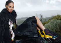 joan smalls karl lagerfeld fendi home