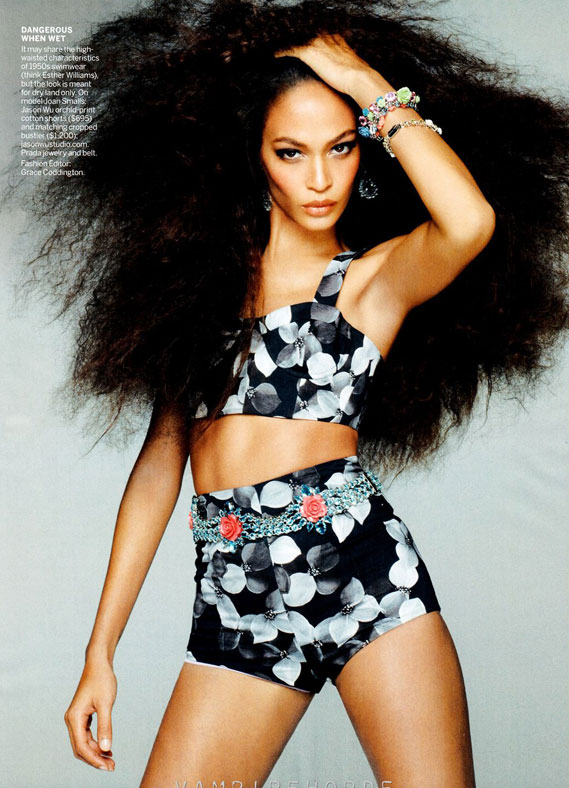 joan1 Joan Smalls par Steven Meisel pour US Vogue