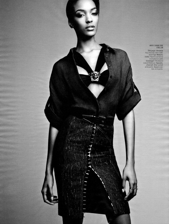 jourdan dunn joan smalls w magazine  e