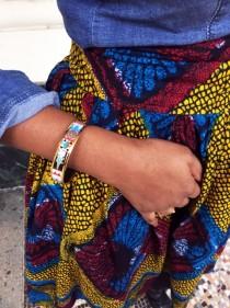 jupe wax chemise denim turbanista paris
