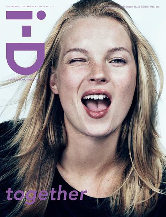 kate-moss-iD-magazine-Fall-2013 Joan Smalls en couverture du magazine i-D Fall 2013