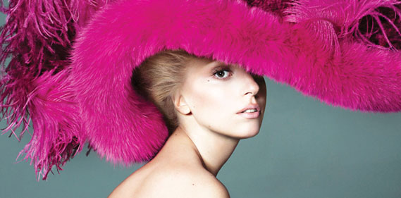 Lady Gaga en Marc Jacobs pour la couv' de Vogue US Septembre 2012