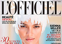 Lais Ribeiro en couv' de L'Officiel Paris