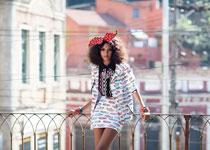 Lais Ribeiro par Garance Doré pour Vogue Brazil