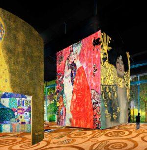 latelier des lumieres gustav klimt Hundertwasser Egon Schiele freywille musee numerique