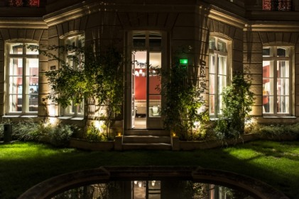 le XXII Hotel Particulier Paris Jardin