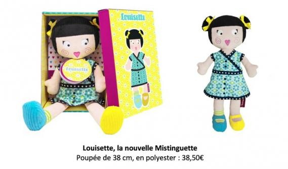 lesminstinguettes-poupee-de-chiffon_Louisette Les Mistinguettes : Les adorables poupées de chiffon Parisiennes