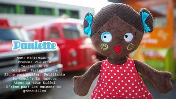 lesminstinguettes-poupee-de-chiffon_Paulette01 Les Mistinguettes : Les adorables poupées de chiffon Parisiennes
