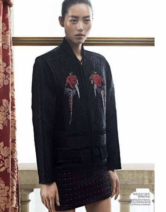 liu-wen-vogue-china-december-2012-02 Liu Wen pour Vogue China Décembre 2012