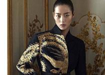 Liu Wen pour Vogue China Décembre 2012