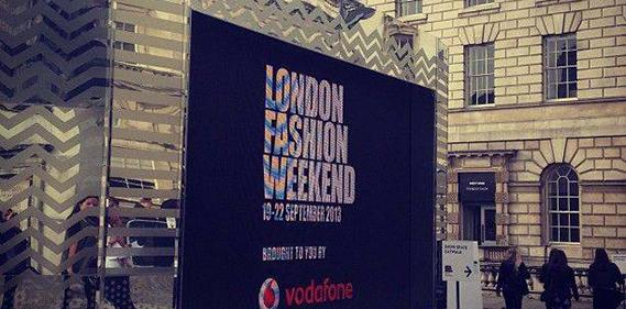 london fashion week une