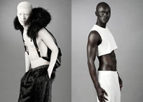 Papis Loveday and Shaun Ross pour CHAOS MAGAZINE