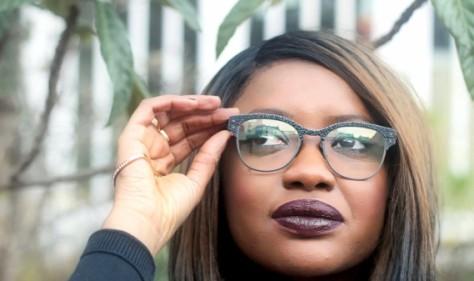 lucas de stael lunettes cuir vivarium galuchat