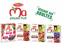 Ma Pause Fruit de Materne : les fruits mixés pour adultes !