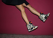 Sneakers Melody Ehsani x Reebok Classics for Valentine's Day