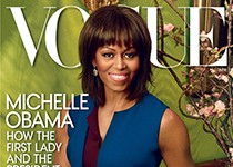 Michelle Obama en couv' de Vogue US Avril 2013