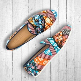 mocassin slippers wax galet vlisco boutique odeon heritage
