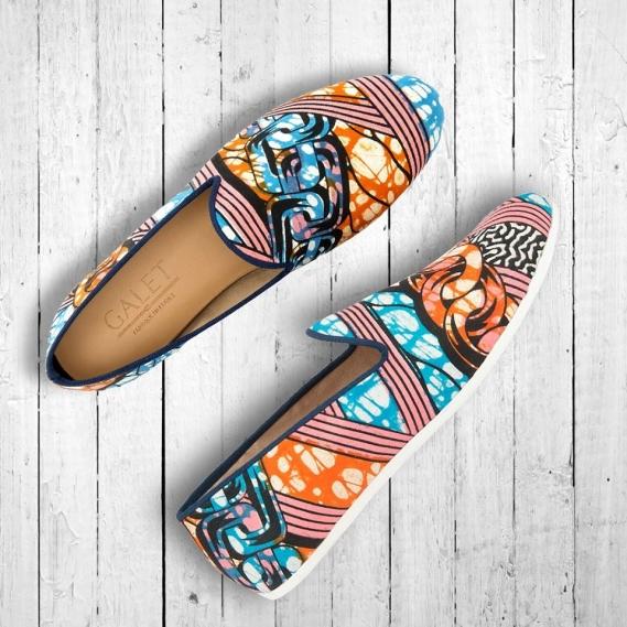 mocassin-slippers-wax-galet-vlisco_boutique-odeon-heritage Les mocassins Maison Galet se parent de wax Vlisco