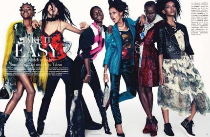 models Vogue Germany September