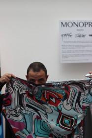monoprix invite street art foulard Pro