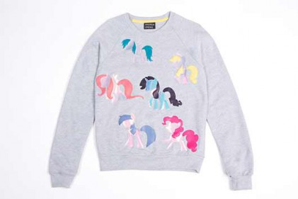my little pony andrea crews all over