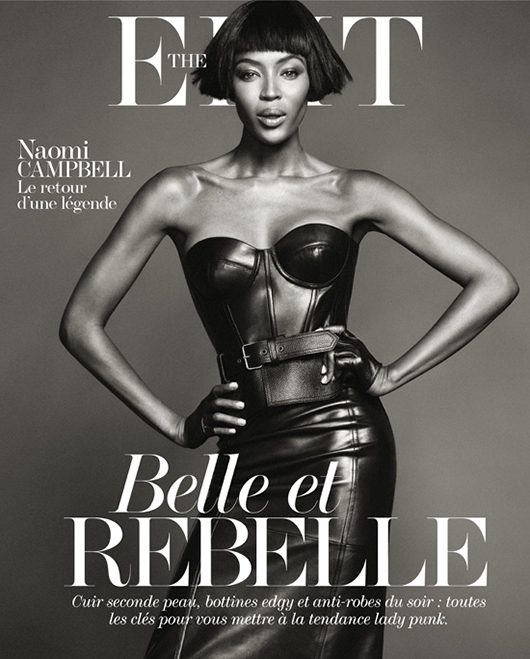 naomi campbell The Edit Belle et Rebelle