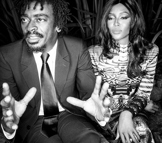 Naomi Campbell bonde couverture Vogue Brazil