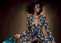 Naomi Campbell par Emma Summerton pour W Magazine