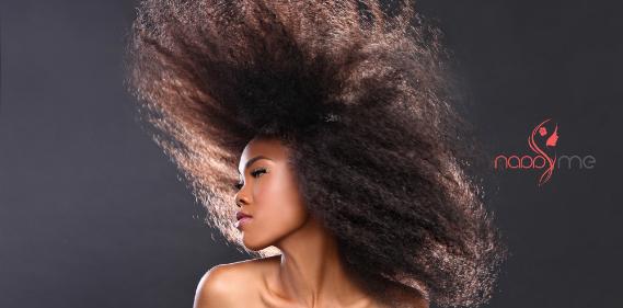 nappyme application cheveux afro Une