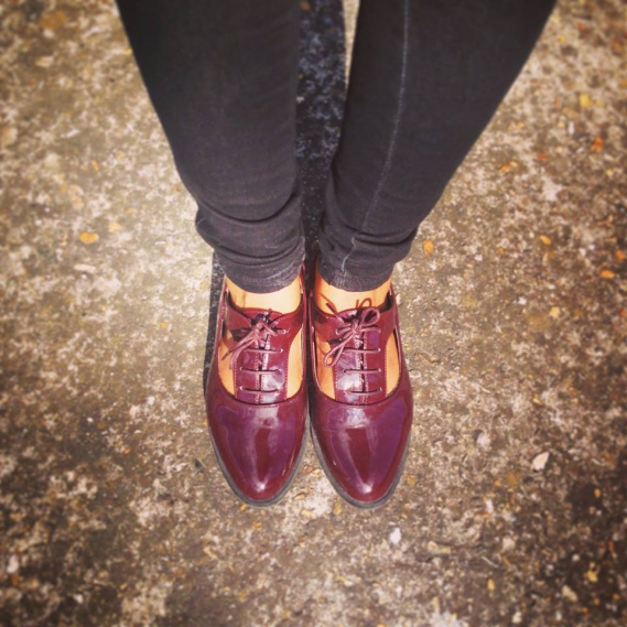 newlook chaussures bordeaux