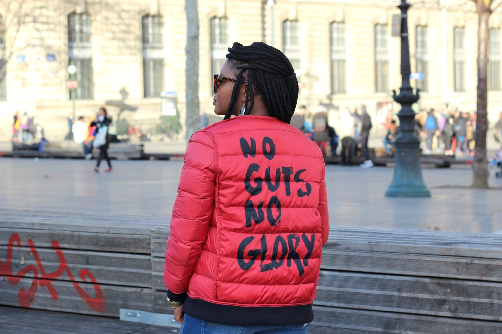 no guts no glory pullin doudoune 1