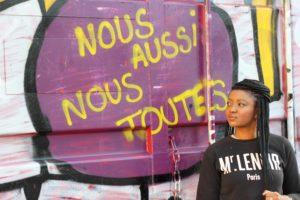 no guts no glory pullin mr lenoir graffiti feminisme