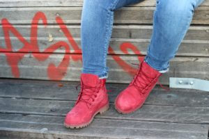 no guts no glory pullin timberland boots rouge premium