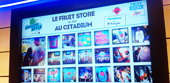 oasis be fruit citadium une