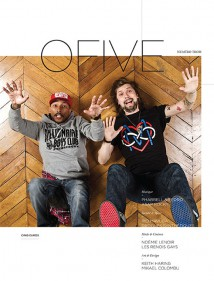 ofive mag cover issue