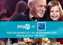Pour Noël, Paylib double vos dons sur Fondationdefrance.org