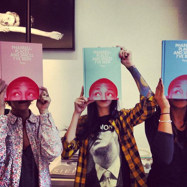 pharell_book_colette-01 Save the Date : Pharrell Williams chez Colette le 10 novembre 2012