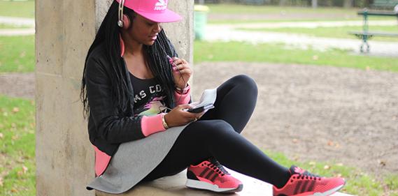 pink runner challenge octobre rose Une