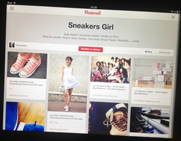 pinterest epingler cest partager timodelle sneakers girl