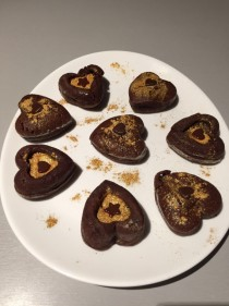 recette chocolat saint valentin coup de foudre