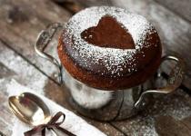 Recette dessert Saint-Valentin : Coup de foudre au chocolat